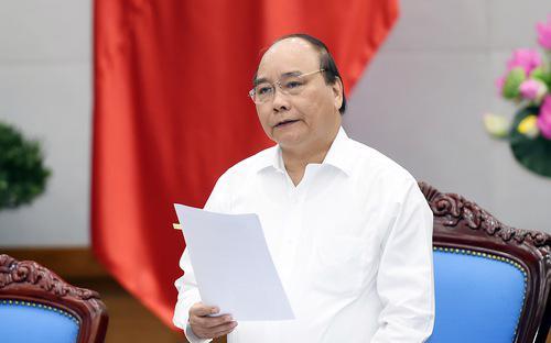 Thủ tướng Nguyễn Xuân Phúc chỉ đạo tại phiên họp thường kỳ tháng 8 của Chính phủ ngày 30/8.