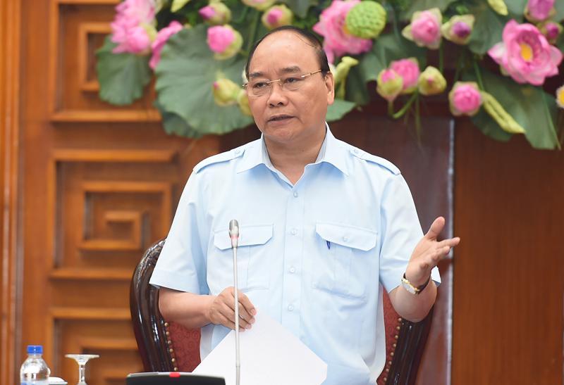 """Thủ tướng nói với Petro Vietnam rằng: """"Chúng ta có trách nhiệm đối với đất nước, đối với nhân dân, đối với Tập đoàn để giữ gìn truyền thống của chúng ta""""."""