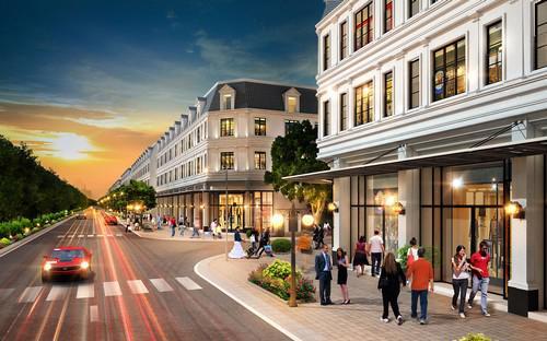 Dự án sẽ được phát triển theo hướng khu đô thị thấp tầng, đồng bộ và hoàn chỉnh.