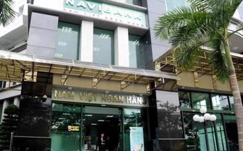 Bên ngoài một chi nhánh của Navibank.<br>