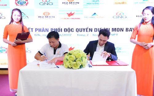 Lễ ký kết do Tập đoàn HDMon tổ chức hôm 25/8.<br>