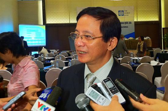Cục trưởng Cục Quản lý nợ và Tài chính đối ngoại Nguyễn Thành Đô - Ảnh: Anh Quân.