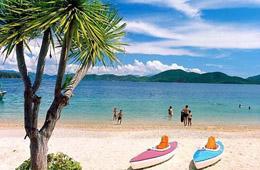 Các bãi biển của Việt Nam nhìn chung khá bằng phẳng, nước trong, sóng gió vừa phải rất thích hợp cho tắm biển và các hoạt động vui chơi giải trí trên biển.