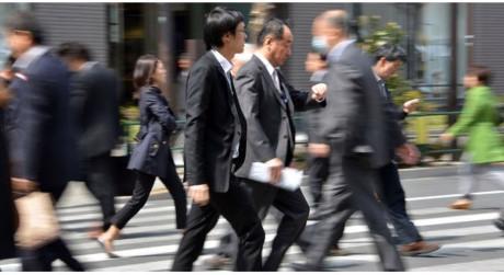 Thị trường việc làm Nhật hiện cũng đang phát đi nhiều tín hiệu tích cực - Ảnh: Bloomberg.