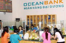 OceanBank đã không công bố thông tin bất thường trong thời hạn 24 giờ về việc thông qua nghị quyết thay đổi phương án tăng vốn điều lệ.