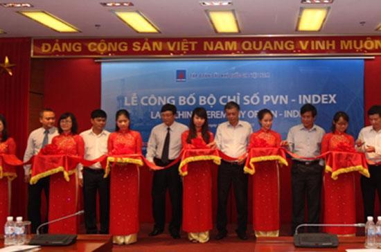 Lãnh đạo Petro Vietnam công bố bộ chỉ số PVN - Index.