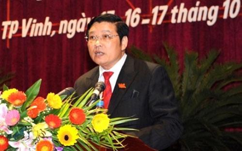 Ông Phan Đình Trạc, Phó trưởng Ban Nội chính Trung ương.