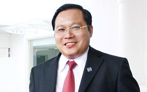 Ông Phan Huy Khang, Tổng giám đốc Sacombank.<br>