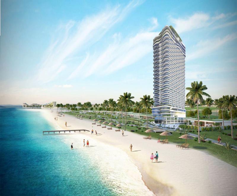 <b> </b>Phối cảnh dự án TMS Luxury Hotel Quy Nhon Beach tại 28 Nguyễn Huệ, Quy Nhơn, Bình Định.<b><br></b>