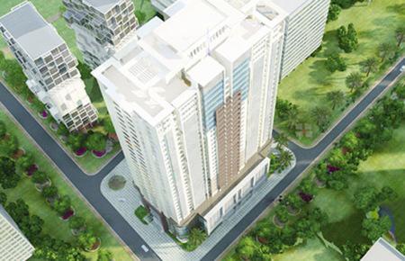 Phối cảnh FLC Landmark Tower, dự án đã được FLC bàn giao căn hộ cho khách hàng từ 1/6-15/6/2012.