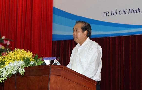 """Phó thủ tướng Trương Hòa Bình: """"Không có vùng cấm trong đấu tranh phòng, chống tham nhũng"""".<br>"""
