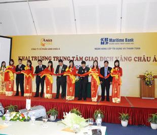 Lễ khai trương Trung tâm Giao dịch Vàng châu Á.