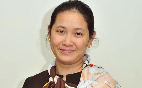 Bà Lê Lệ Hằng, Tổng giám đốc Công ty Quản lý quỹ SSI (SSIAM).
