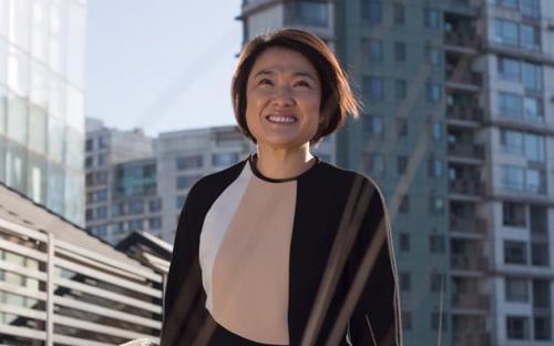 Zhang Xin - Giám đốc điều hành công ty bất động sản SOHO China - Ảnh: Spiegel.<br>