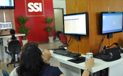 Lợi nhuận chưa phân phối đến hết năm 2012 của SSI đạt 1.340 tỷ đồng.