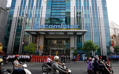 Tính đến ngày 31/3/2017, tổng tài sản của Sacombank đạt 341.176 tỷ đồng, vốn chủ sở hữu đạt 22.450 tỷ đồng.