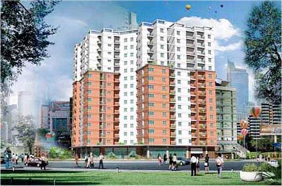 Phối cảnh mô hình nhà thu nhập thấp tại Khu đô thị mới Sài Đồng, quận Long Biên.