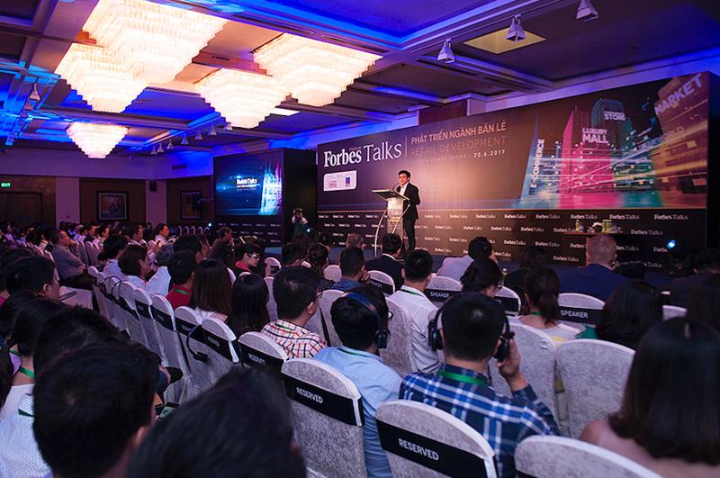Ngành bán lẻ Việt Nam được nhận định tiềm năng với quy mô thị trường 100 triệu dân trong tương lai.