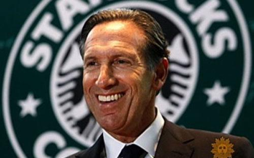 Howard Schultz - CEO của Starbucks.