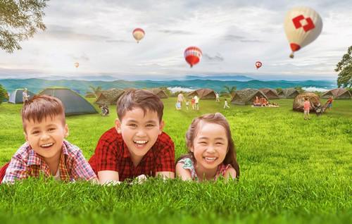 Chương trình khuyến mãi dịp hè, với quà tặng là những vật dụng hữu ích  cho các hoạt động hè sôi động, là lời chúc của Ngân hàng Techcombank  dành cho khách hàng của mình.