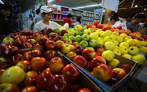 Trong 7 tháng đầu năm, nhập khẩu rau quả tăng tới 200%.