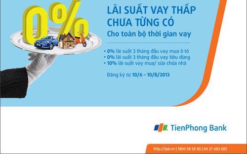 Hiện các hồ sơ vay vốn tại TienPhong Bank được xử lý nhanh chóng, chỉ trong vòng 2 ngày quý khách đã có thể được giải ngân.