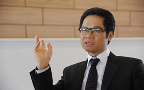 Ông Vũ Tiến Lộc,Chủ tịch Phòng Thương mại và Công nghiệp Việt Nam.