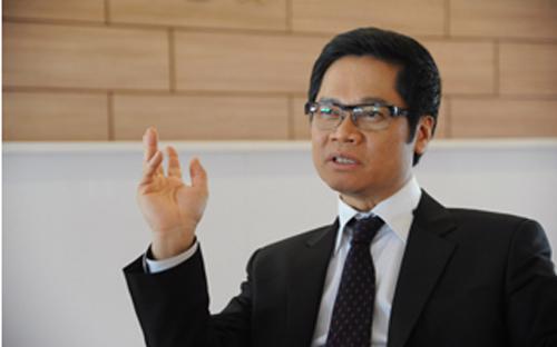 Ông Vũ Tiến Lộc, Chủ tịch VCCI.<br>