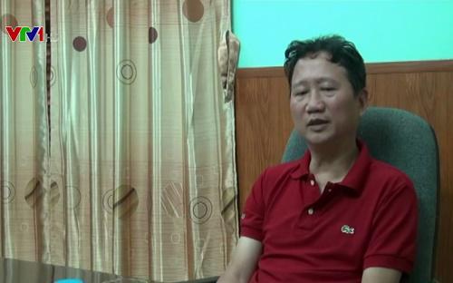 """Trong bản tin Thời sự 19h VTV1 của Đài truyền hình Việt Nam ngày 3/8, Ông Trịnh Xuân Thanh xuất hiện với khuôn mặt và giọng nói có phần mệt mỏi. <br><br>Ông Thanh cho biết """"thấy mình đã làm những điều rất nông nổi, suy nghĩ không chín chắn"""" và """"cần phải về để đối diện với sự thật"""" - Nguồn: VTV.<br>"""