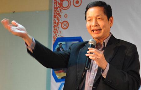 Chủ tịch Hội đồng Quản trị Công ty Cổ phần FPT Trương Gia Bình - Ảnh: Chungta.