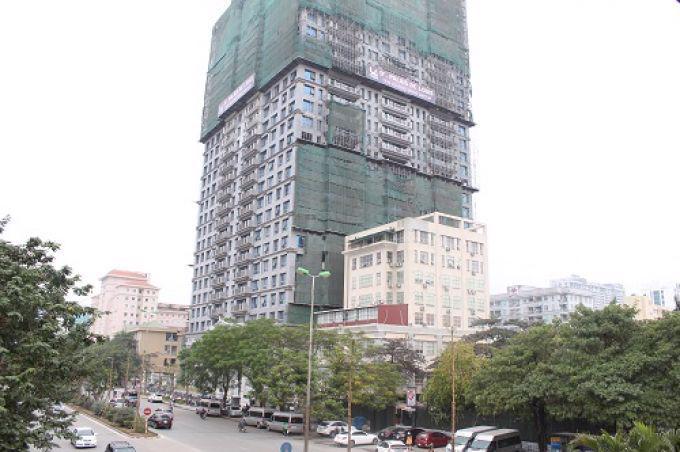 Dự án Khu nhà ở phía đông hồ Nghĩa Đô của Tân Hoàng Minh.