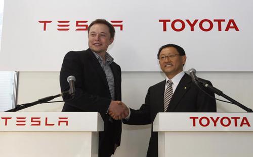 Toyota ngừng hợp tác với Tesla và tự phát triển xe điện của riêng mình - Ảnh: New York Times.<br>