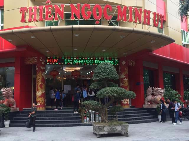 Trụ sở Thiên Ngọc Minh Uy tại Hà Nội.