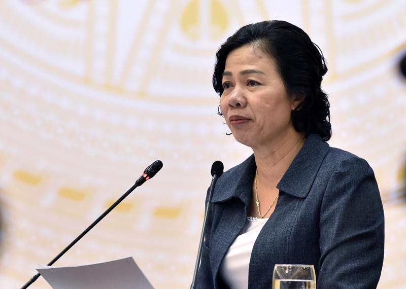 Thứ trưởng Bộ Tài Chính Vũ Thị Mai cho rằng, vẫn có nhiều ý kiến chưa có sự nhìn nhận, đánh giá một cách  đầy đủ, toàn diện về các giải pháp kiến nghị điều chỉnh Thuế của Bộ Tài  chính.