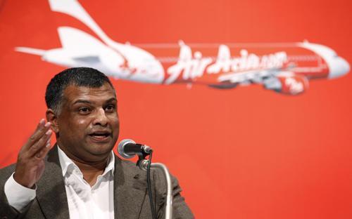 Khi dịch SARS bùng nổ hồi năm 2002, AirAsia đã tăng gấp 3 ngân sách quảng cáo - Ảnh: Business Times.