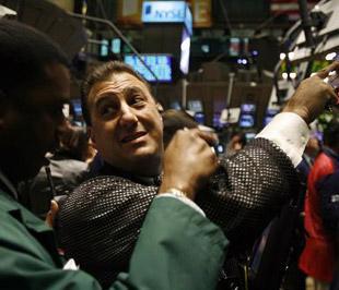 Chứng khoán Mỹ đã tăng điểm trở lại sau khi có ngày giao dịch tồi tệ nhất kể từ năm 1987 - Ảnh: Reuters.