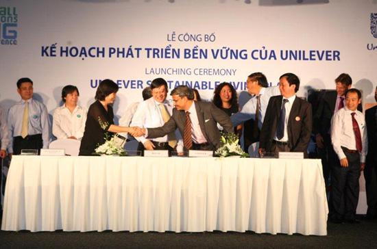 Unilever được xem là hình mẫu về mối quan hệ đối tác có tính xây dựng và hợp tác có hiệu quả giữa một tập đoàn đa quốc gia và các doanh nghiệp địa phương để đôi bên cùng có lợi.