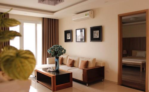 Các căn hộ có diện tích từ 80 - 127m2, được thiết kế theo phong cách kiến trúc hiện đại.