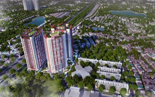 Phối cảnh dự án căn hộ Imperial Plaza.