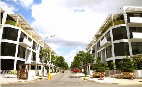 Các khu dân cư hiện hữu gần Gia Cát Garden trong khu đô thị Cát Lái.