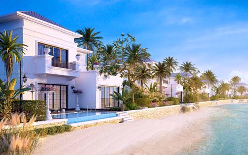 Các biệt thự Vinpearl Resort & Villas sở hữu không gian riêng tư tối đa đồng thời rộng mở với thiên nhiên.