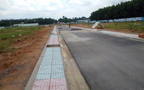 Khu dân cư đất ở tại xã An Phước do Công ty Vạn An Phát triển khai.