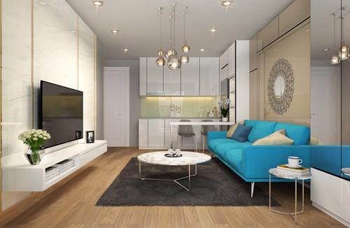 D'. El Dorado được thiết kế ngoại thất theo phong cách tân cổ điển cùng cách bài trí nội thất gọn gàng và thông minh.