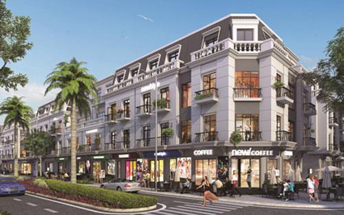Khu đô thị biển Vinhomes Dragon Bay có tổng diện tích 68,35ha bao gồm khu phức hợp nhà ở, khách sạn và điểm nhấn là khu nhà phố thương mại (shophouse).