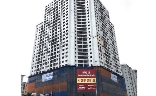 Golden Field đã xây dựng xong phần thô, các khâu hoàn thiện còn lại, chủ đầu tư MBLand Holdings đang thực hiện.