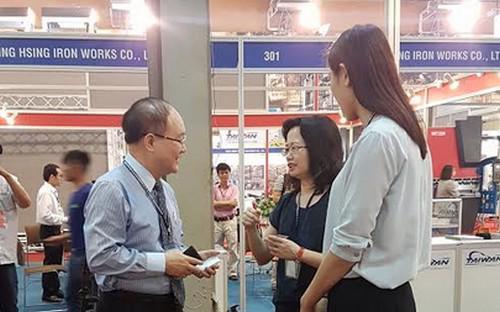 Triển lãm là cơ hội để các doanh nghiệp trong ngành Công nghiệp Nhựa, In  ấn và đóng gói bao bì của Việt Nam tiếp cận thị trường, tìm kiếm đối  tác.