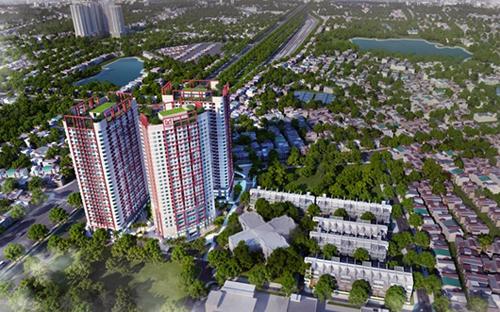 Phối cảnh tổng quan dự án Imperial Plaza 360 Giải Phóng, Hà Nội.