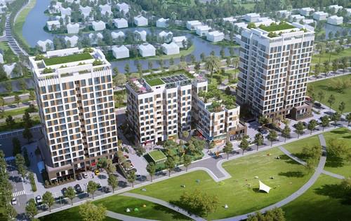 Tọa lạc tại đất đắc địa Khu đô thị Việt Hưng, Valencia Garden là sự lựa chọn để cư dân an cư lạc nghiệp lâu dài.