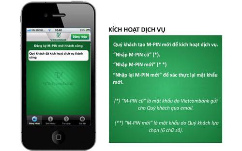 VCB-Mobile B@nking tương thích với hầu hết các dòng điện thoại.