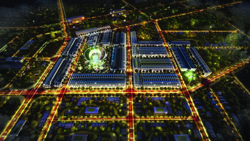 Nằm trên trục đường Dũng Sĩ Điện Ngọc, Khu đô thị GAIA City với tổng  diện tích gần 9ha, thuộc dự án quy hoạch Khu đô thị mới Điện Nam Điện  Ngọc và Nam Đà Nẵng.